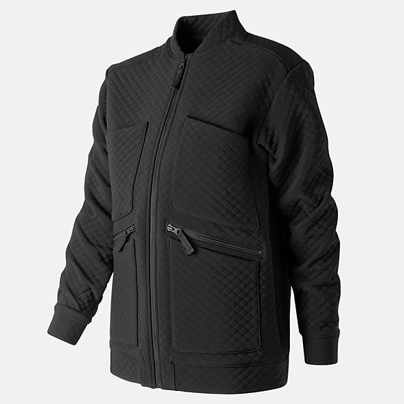 New Balance NB Heatloft Jacket, WJ91100BK