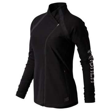 New Balance United Airlines Half Anticipate Finisher Jacket, Black