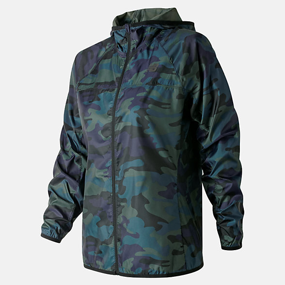 New Balance Printed Windcheater Jacket 2.0, WJ91160FRS