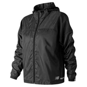 New Balance Light Packjacket, Black