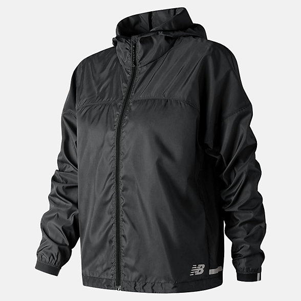 New Balance Light Packjacket, WJ91240BK