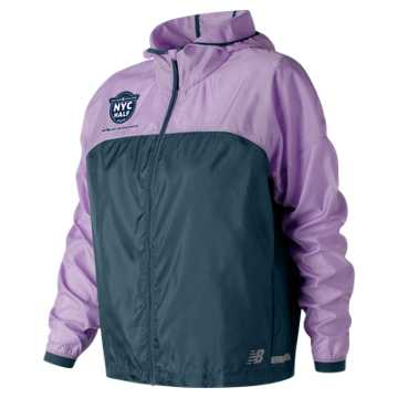 New Balance United Airlines Half Light Packjacket, Violet Glo