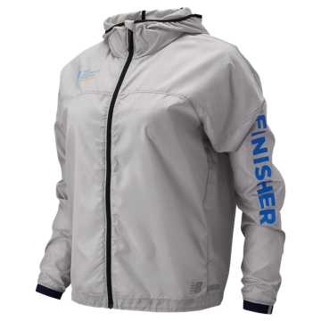New Balance NYC Marathon Light Packjacket, Overcast
