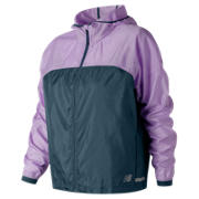 New Balance Light Packjacket, Violet Glo