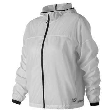 New Balance Light Packjacket, White