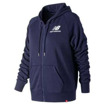 New Balance Essentials Full Zip Hoodie, Pigment