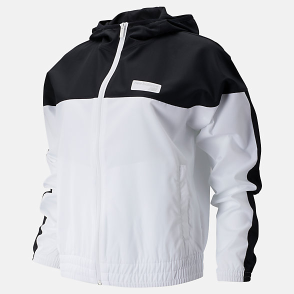 New Balance NB Athletics Windbreaker, WJ91550BKW