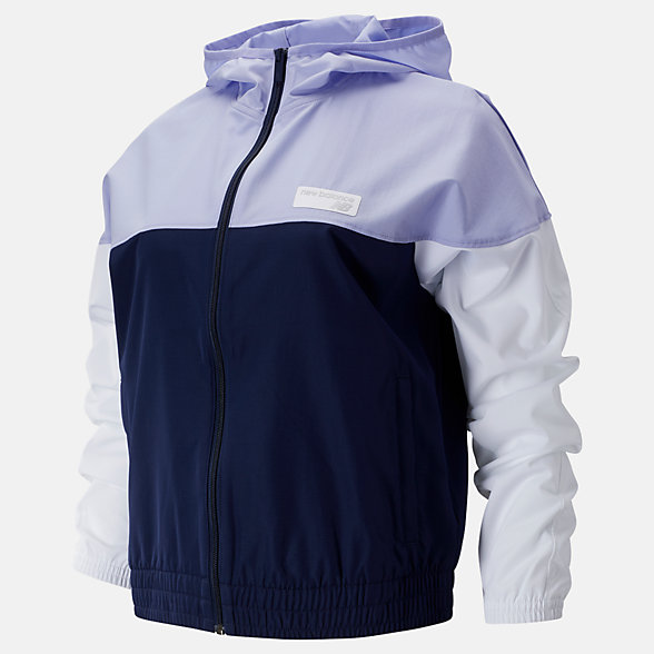 New Balance NB Athletics Windbreaker, WJ91550PIW