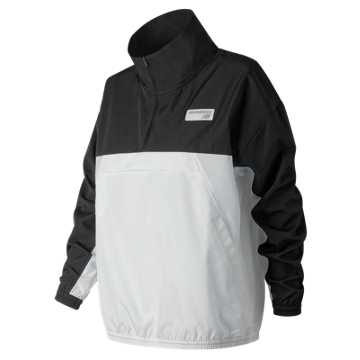 New Balance NB Athletics Windbreaker Pullover, Black