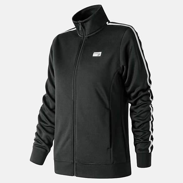 New Balance Veste de piste NB Athletics, WJ91560BK