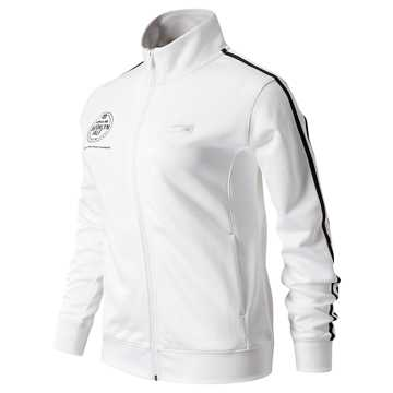 New Balance Brooklyn Half Finisher NB Athletics Track Jacket, White
