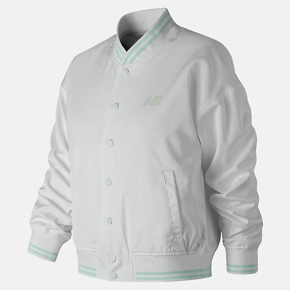 NB Essentials Stadium Jacket, WJ91575WT