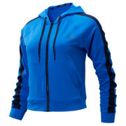 New Balance Transform Jacket, Vivid Cobalt with Black