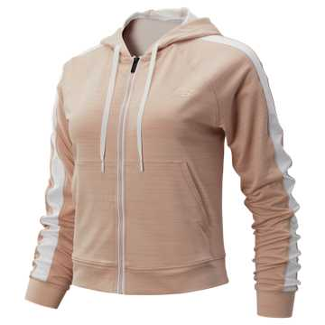 New Balance Transform Jacket, White Oak with White