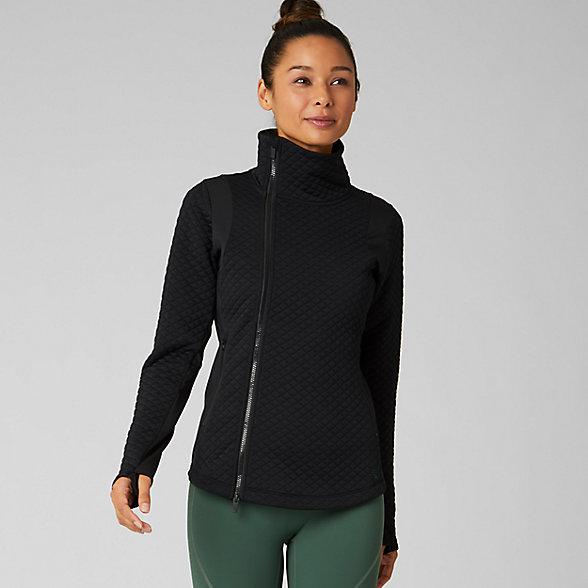 New Balance NB Heat Loft Jacket, WJ93116BK