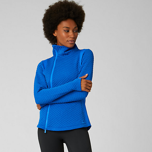 New Balance NB Heat Loft Jacket, WJ93116VCR
