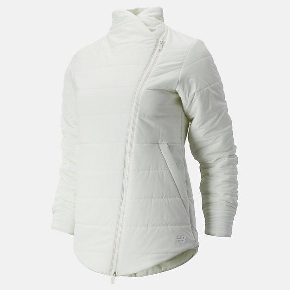 New Balance 女款不规则剪裁棉服, WJ93121SST