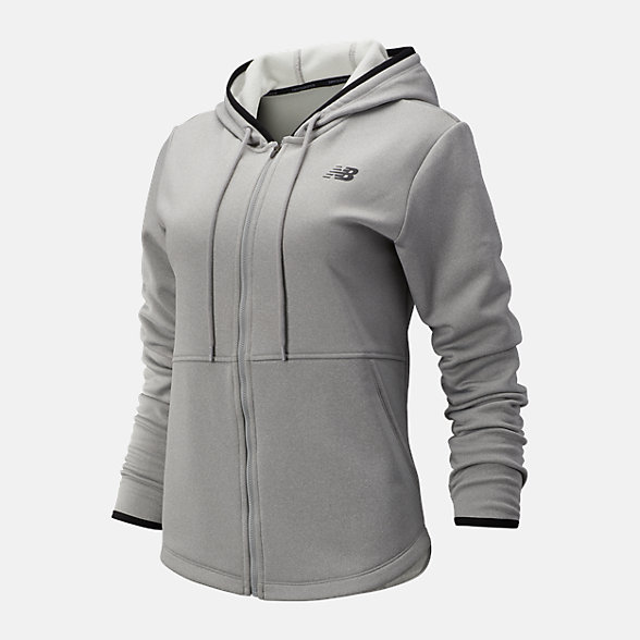 NB Relentless Fleece Full Zip, WJ93137AG