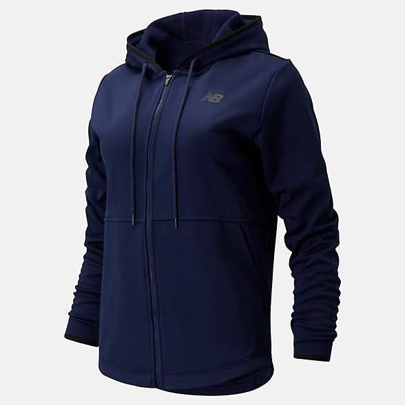 New Balance Relentless Fleece Full Zip, WJ93137PGM