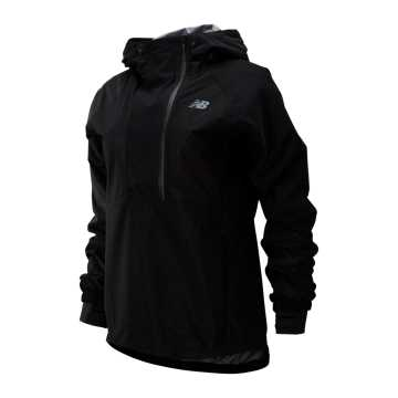 New Balance Q Speed Waterproof Anorak, Black