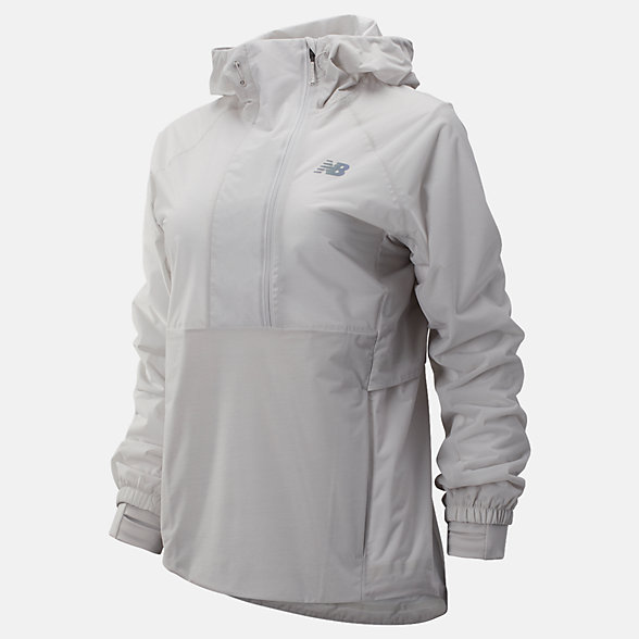 New Balance Q Speed Waterproof Anorak, WJ93259OVC