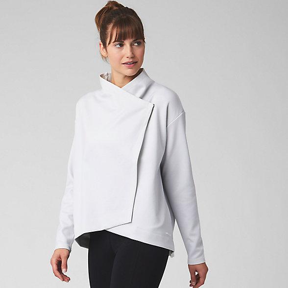 New Balance Balance Asym Jacket, WJ93450SAH