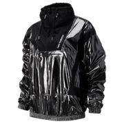 NB NB Athletics Select Metallic Windbreaker, Black with Magnet