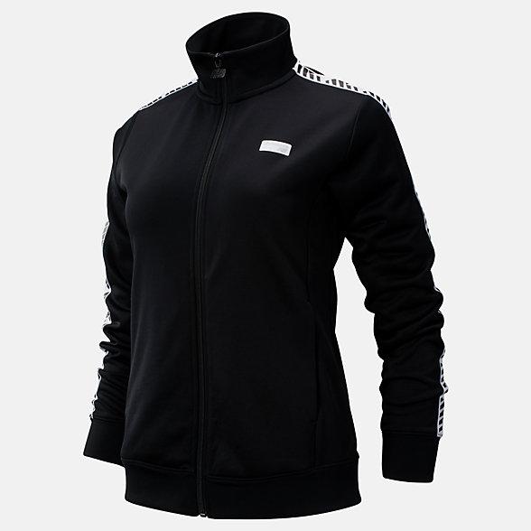 NB NB Athletics Classic Track Jacket, WJ93503BK