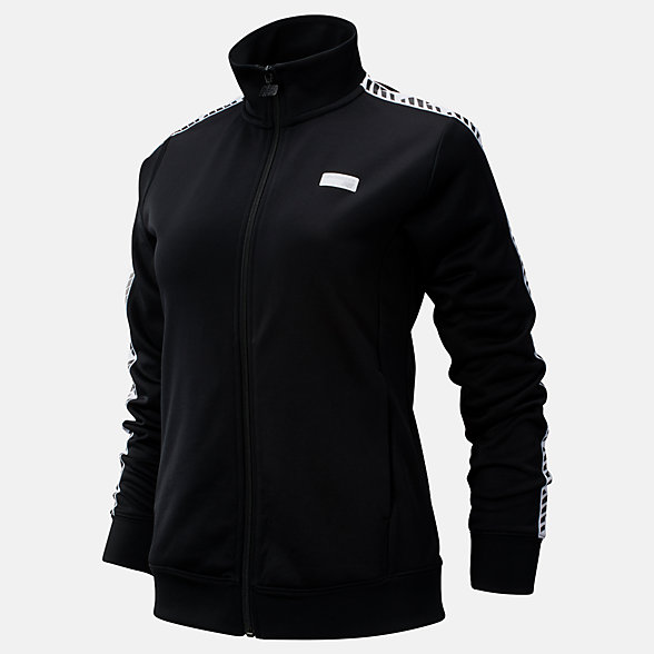 NB NB Athletics Classic Track Jacket, WJ93503BK