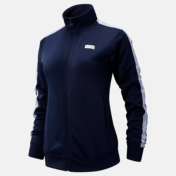 NB NB Athletics Classic Track Jacket, WJ93503PGM