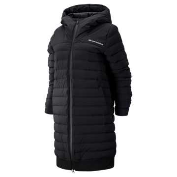 New Balance Sport Style Select Heat Down Jacket, Black