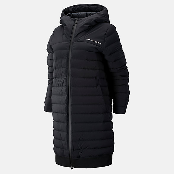 New Balance Sport Style Select Heat Down Jacket, WJ93511BK