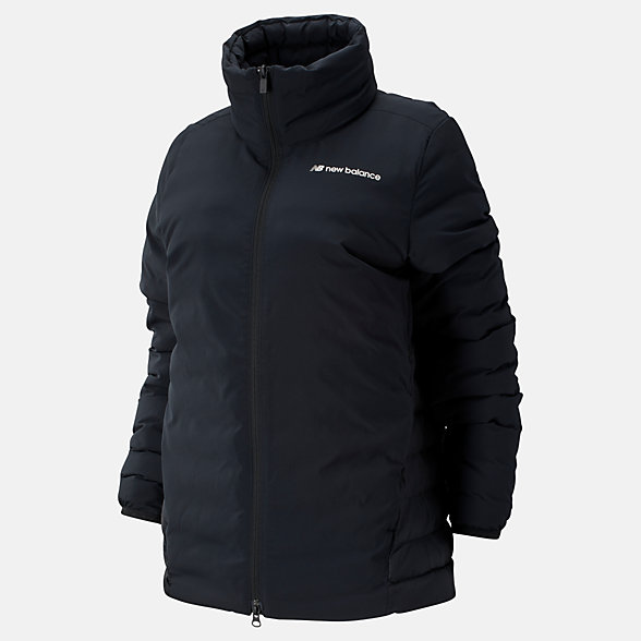 New Balance Sport Style Synth Jacket, WJ93513BK