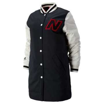 New Balance NB Athletics Select Jacket, Magnet with Sea Salt & Team Red