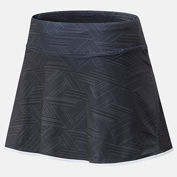 New Balance Printed Rally Court Skort, WK01445BKW