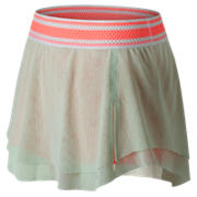 NB Tournament Skort, Seafoam with Coral