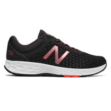 New Balance Fresh Foam Kaymin, Black with Pink Glo