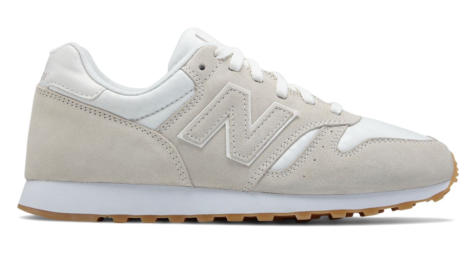 new balance 373 suede cream