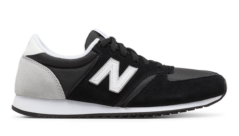 Newest New Balance WL420 Black Womens Trainers Outlet UK1397
