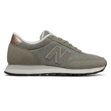 New Balance 501, Grey with Overcast