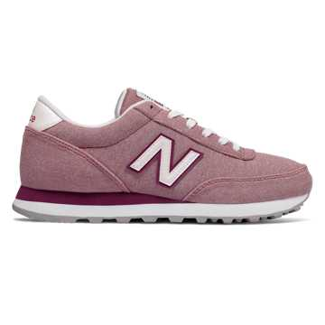 New Balance 501 Textile, Dusted Peach