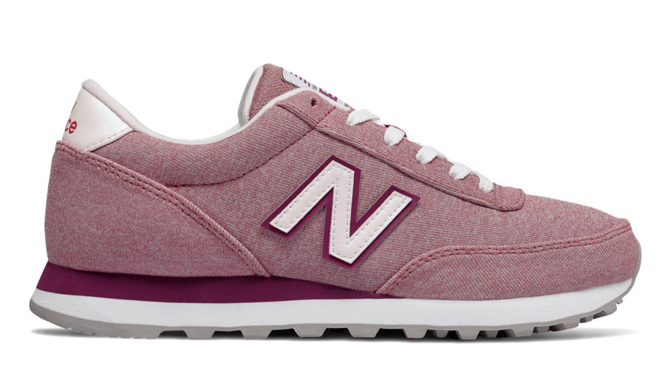 Discount 188296 New Balance Classics Wl501 Women Grey Shoes
