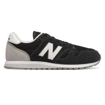 New Balance 520, Black with Marblehead