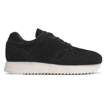 New Balance 520 Platform, Black with White