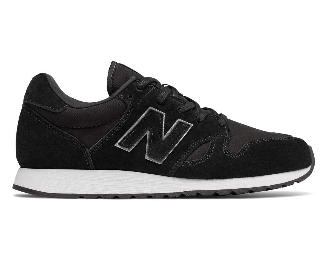 New New Balance Wl520 Rk Black Trainers for Women Online Sale