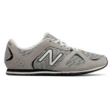 New Balance 555 New Balance, Black with Arctic Fox
