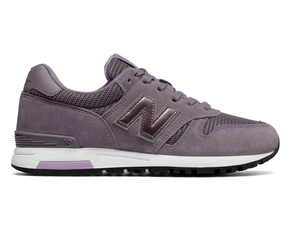 NB 565 New Balance, Lilac with White