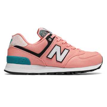 New Balance 574 Art School, Bleached Sunrise with Pisces