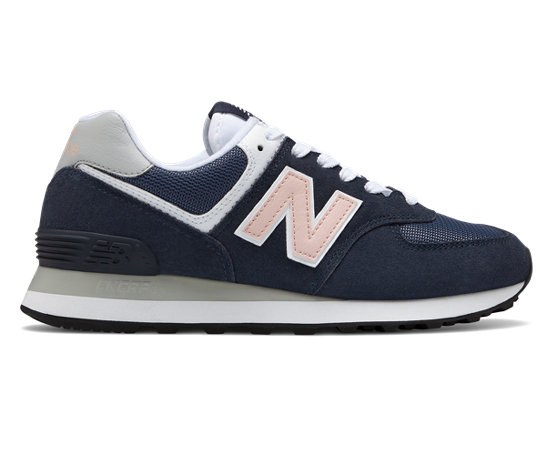 new balance 574 femme outerspace with oyster pink