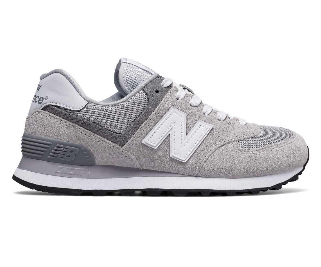 NB 574 Core Plus, Overcast with Grey